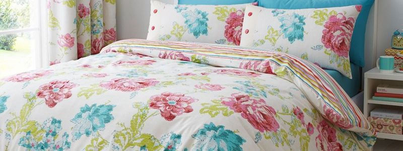 Brighten up your bedroom and learn how to choose the best bed linen