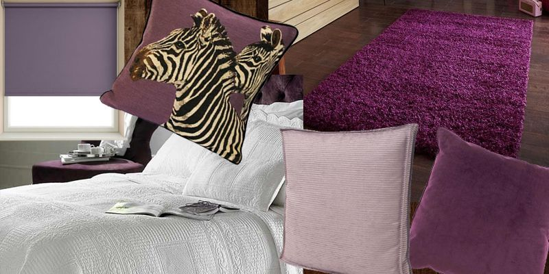 Live in a purple haze with our collection of products in deep plum and lilac for a sophisticated on trend look.