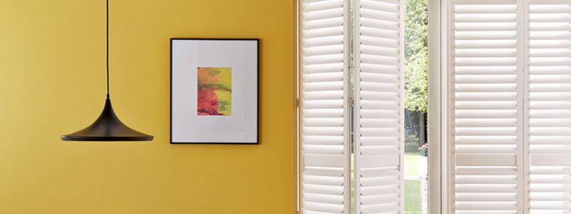 Dress windows with elegant Parisian inspired shutters this spring for a sophisticated European feel, plus paint them any colour you like to match your interior design.