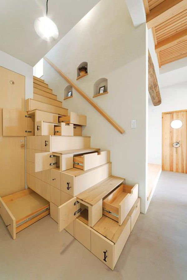 Under the stairs storage - drawers