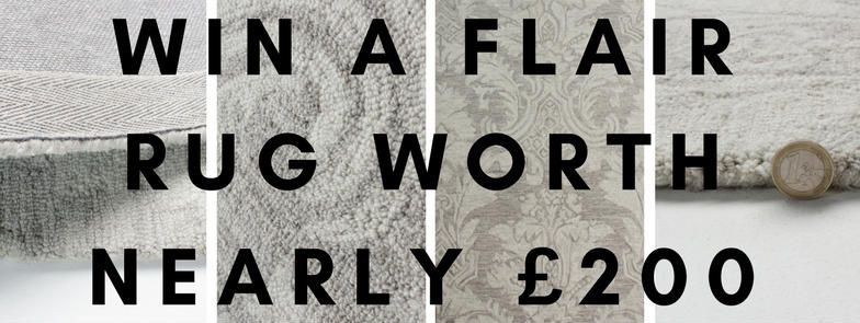 win a flair rug banner