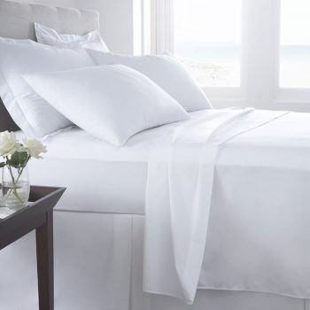 White Egyptian cotton duvet