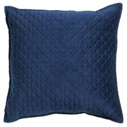 #1 Scatter Box Kite Quilted Velvet Feather Filled Cushion