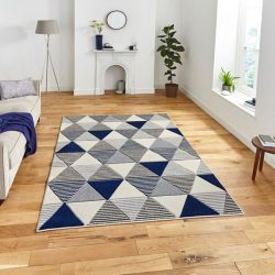 #3 Think Rugs Matrix MT15 Geometric Hand Carved Rug