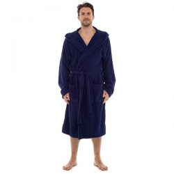 #3 Tom Franks Men's Terry Towelling 100% Cotton Hooded Bath Robe