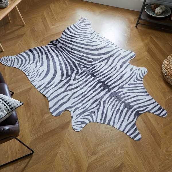 animal-zebra-print-rug-black-white-1
