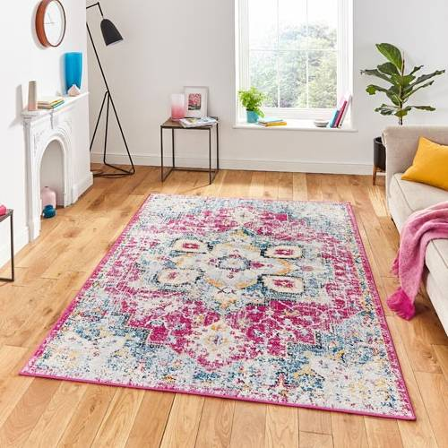 Think Rugs Boston G0532 Traditional Fiesta Rug