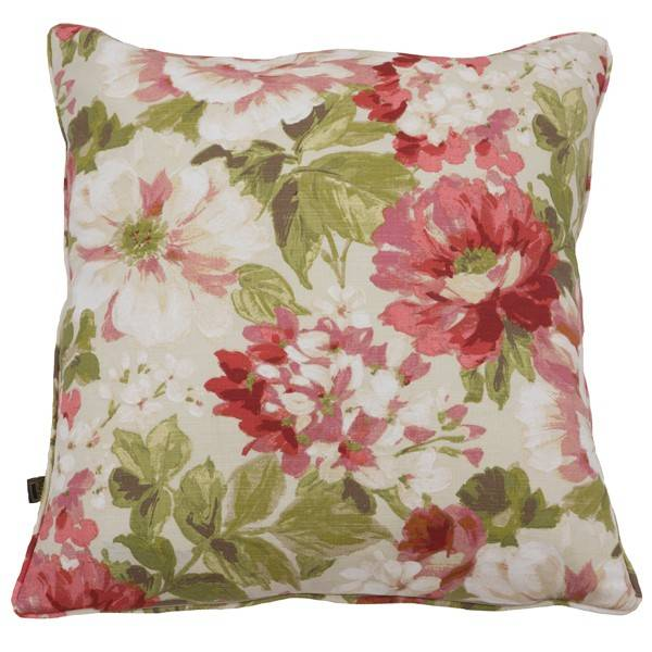 Scatter Box Alison Flower 100% Cotton Feather Filled Cushion