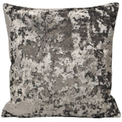 Paoletti Roma Crushed Velvet Cushion Cover, Petrol,