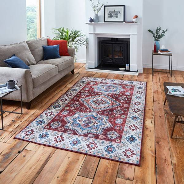Get the look: Chenille Flat Weave Rug