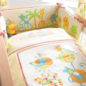 Nursery Bedding Sets Abc Safari