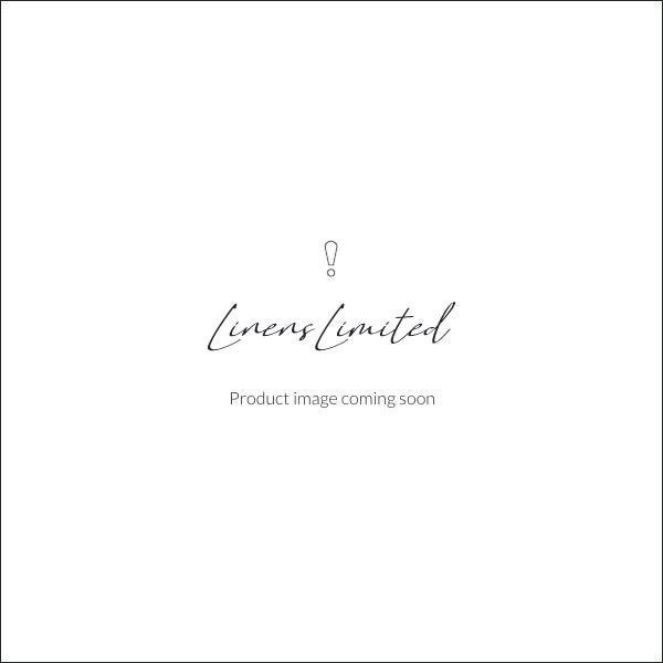Sashi Bed Linen Valetta Cotton Linen Embroidered Boutique Tissue Box Cover, White/Lavender