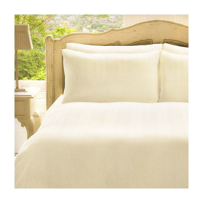 Frette Roma 100 Cotton 280 Thread Count Duvet Cover Set Cream Double Linens Limited