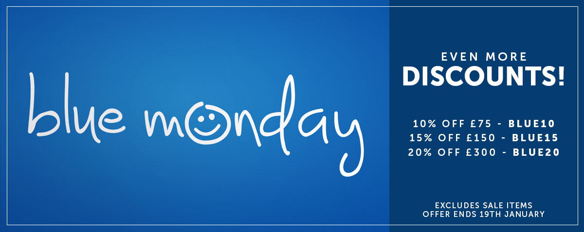 Blue Monday Discounts Up to 20% Off